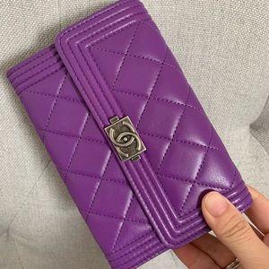 CHANEL Bags - Chanel Le Boy wallet